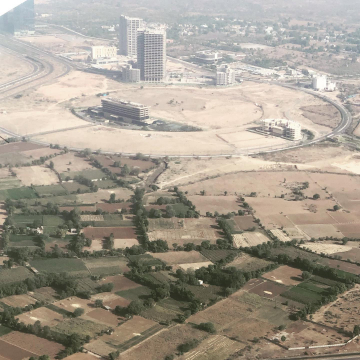 Gift City from the Sky