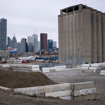 What had been the future site of the Google Sidewalk Labs development in Toronto