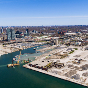 Sidewalk Labs proposed to redevelop a 12-acre parcel of Toronto's waterfront, along Lake Ontario