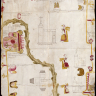 Unknown Artist Atengo and Misquiahuala Mexico, 158030.3 x 22 in. Tempera on deerskin