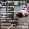 Poster, CFA: socially-engaged art projects across peri-urban areas in India